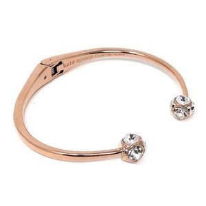 KATE SPADE Rose Gold Lady Marmalade Cuff Bracelet